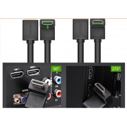 HDMI KÁBEL - L-Profilú HDMI kábel
