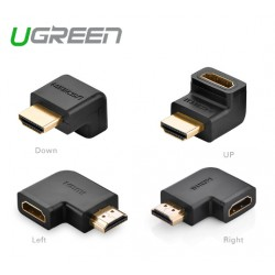 ÁTALAKÍTÓ - ADAPTER - Ugreen sarok HDMI male/HDMI female