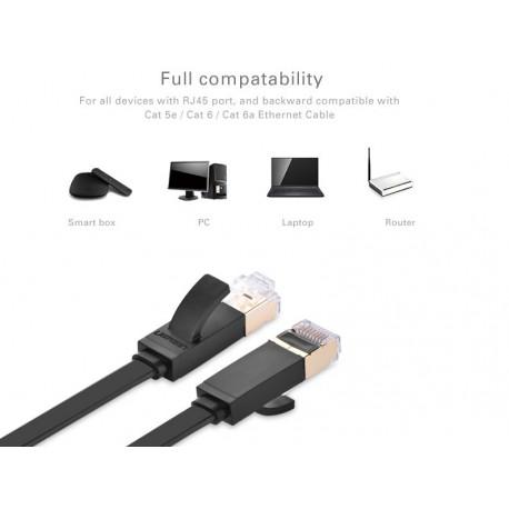 UTP - LAN KÁBEL - Ugreen Cat7-es kábel fekete