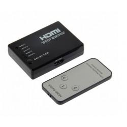 ÁTALAKÍTÓ - ADAPTER - HDMI Switch -3 -távirányítóval