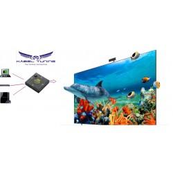 ÁTALAKÍTÓ - ADAPTER - 4k HDMI 3-as Switch