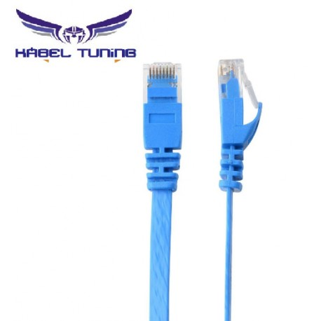 UTP KÁBEL - Cat6 - Blue - 1m  Blue