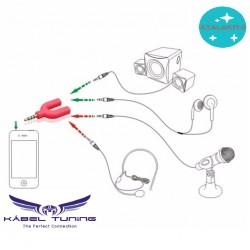 ÁTALAKÍTÓ - ADAPTER - Microphone - Fülhallgató csatlakozó