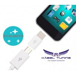 ÁTALAKÍTÓ - ADAPTER -  Micro USB-t alakít át USB C 3.1-re