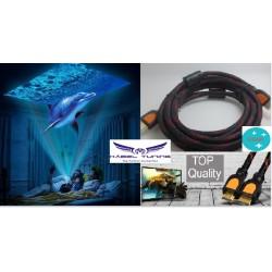 HDMI KÁBEL  - XBOX-hoz  Ps3 és Ps4-hez Premium Gold kábel