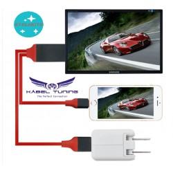 ÁTALAKÍTÓ - ADAPTER - Lightning - USB - HDMI egyben