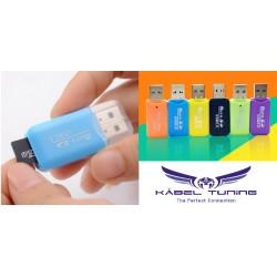 Kártyaolvasó - micro SD - USB 2.0