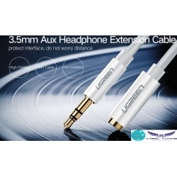HIFI - AUDIO KÁBEL  - VENTION - 3,5 audio kábel 50cm , M/FM fejhallgató hosszabító