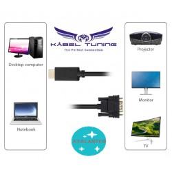 ÁTALAKÍTÓ - ADAPTER - HDMI-ről  VGA-ra - chippes