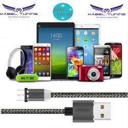 ADAT- és TÖLTŐKÁBEL - Magnetic - Mágneses csatlakozóval USB-C - Lightning-Android készülékekhez