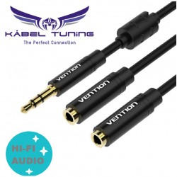 HIFI - AUDIO KÁBEL - Vention - 3,5-es audio splitter -