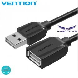 PC KÁBEL - USB hosszabító kábel 2.0 60Mb/S 100 cm - -fekete