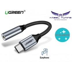 ÁTALAKÍTÓ - ADAPTER - USB C Male / 3,5 Female