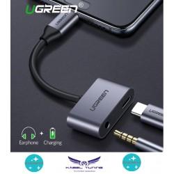 ÁTALAKÍTÓ - ADAPTER - USB C - 3,5 jack és USB C adapter