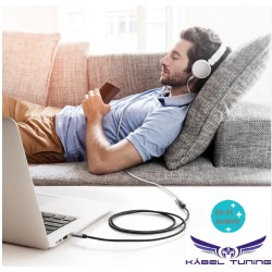 HIFI - AUDIO KÁBEL - 3,5 audio kábel, M/FM fejhallgató hosszabbító -Ugreen