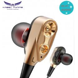 Fülhallgató - Dynamic- telefonhoz - DJ mp3 sport fülhallgató