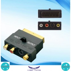 ÁTALAKÍTÓ - ADAPTER - Scart adapter - két irányú