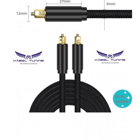 HIFI - AUDIO KÁBEL  - Delice - Optikai  audio kábel 180cm