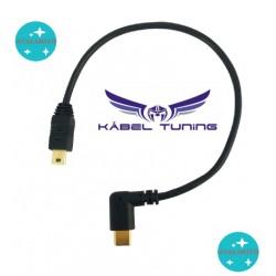 ÁTALAKÍTÓ - ADAPTER - Type C 3,1 male - Mini USB 5 pin male