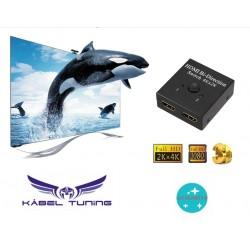 ÁTALAKÍTÓ - ADAPTER -  HDMI Splitter - 4K
